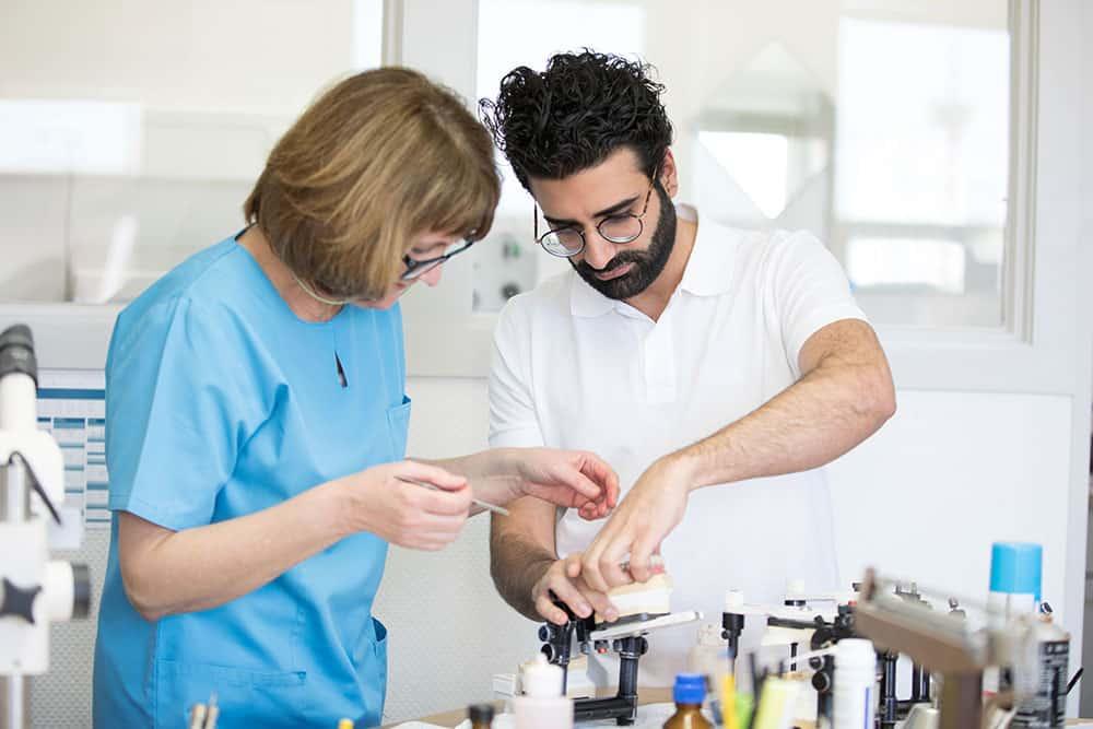 Praxisgalerie Arbeiten im Labor