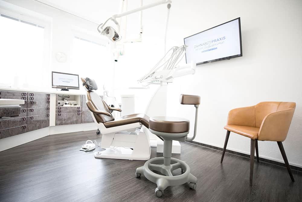 Praxisgalerie Behandlungsraum